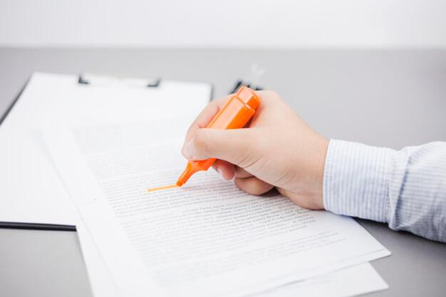 check list documentos