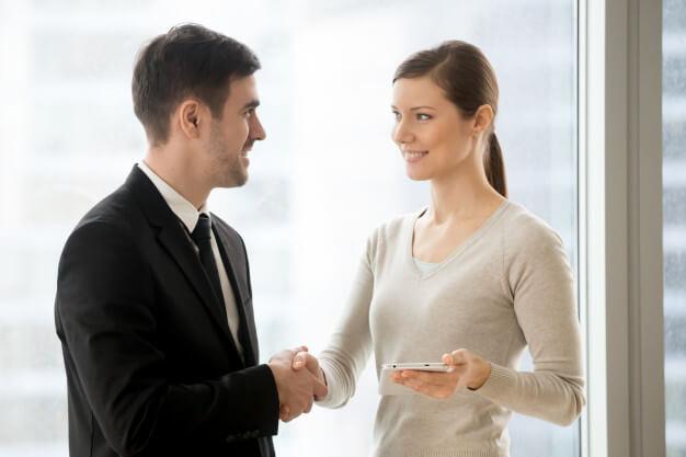 advogada e cliente